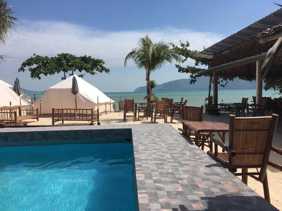 Thailand private beach