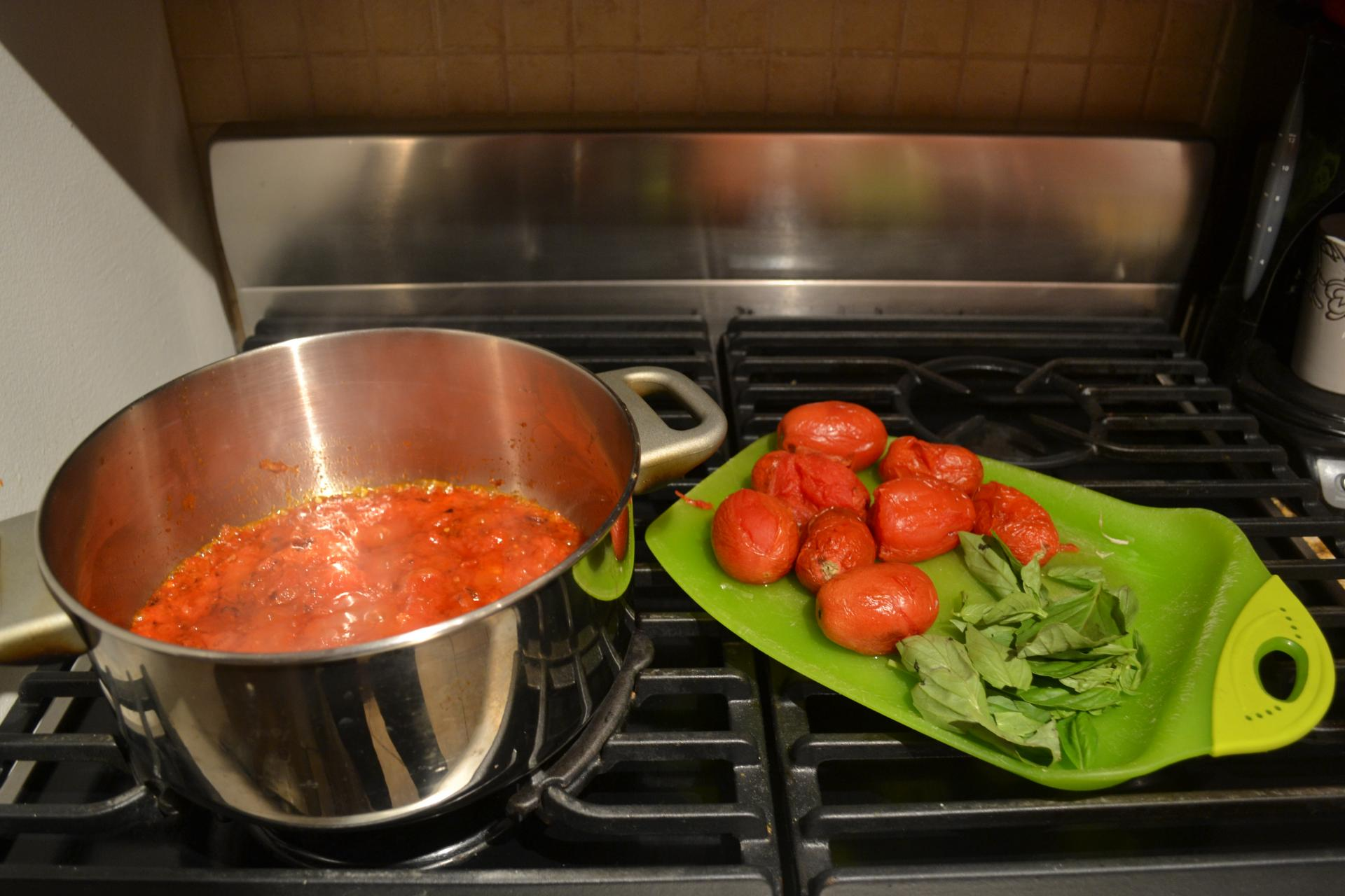 best roasted tomato sauce recipe