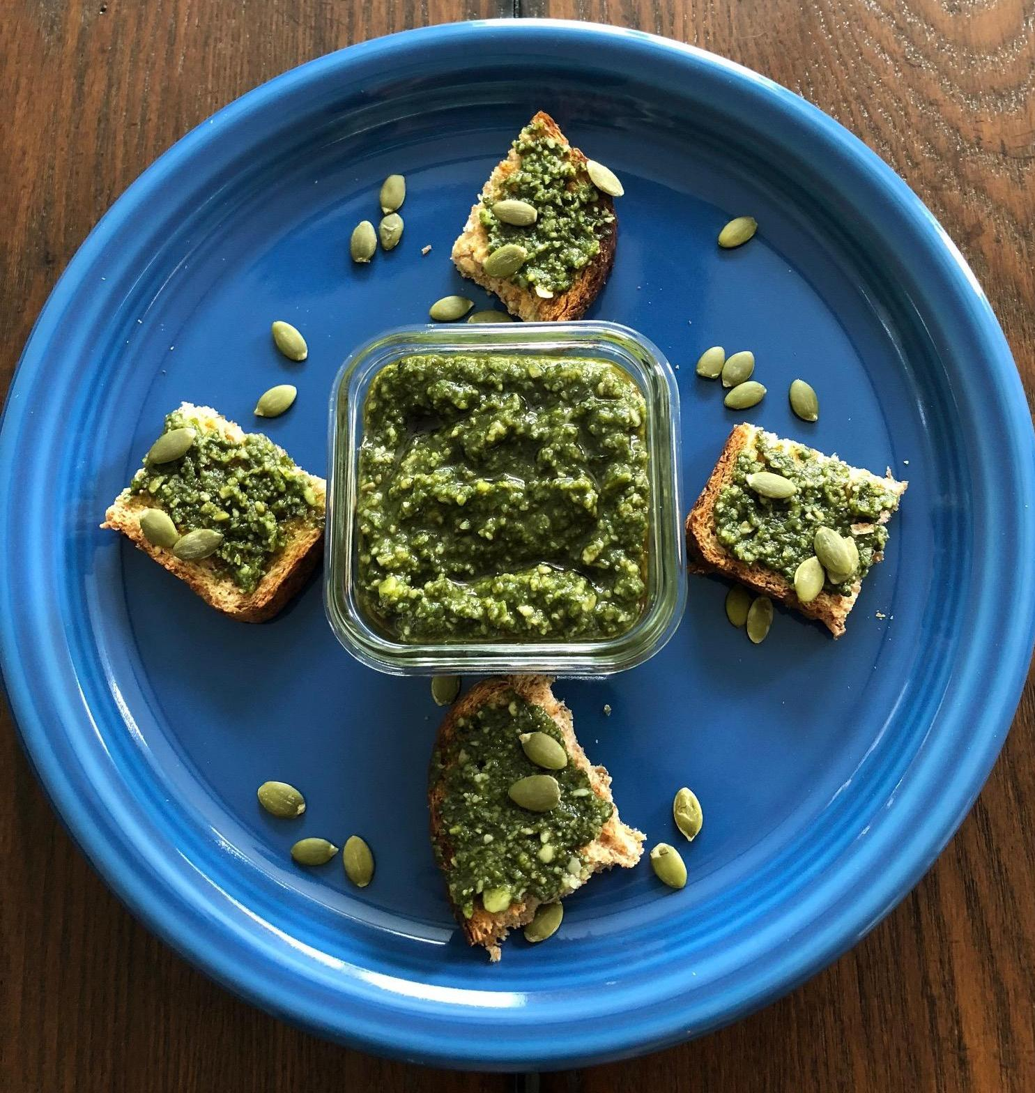 pumpkin seed oil pesto recipe