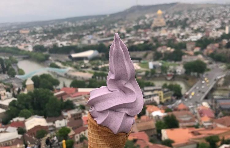 wine ice cream around the world