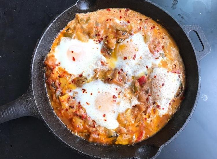 This Skillet Shakshuka Is All You Need For Breakfast