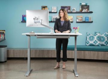 A Standing Desk Might Not Be The Solution To Your Desk Job Health Problems