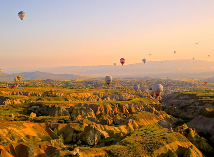Turkey's Cappadocia Is Brimming With Hot Air Balloons And Fairy Towers