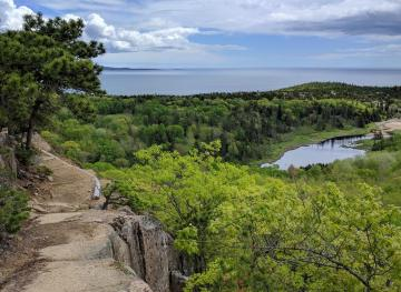 Acadia National Park's Beehive Trail Is A Totally Thrilling Cliffside Hike
