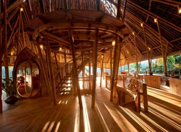 Stay At This 4-Story Riverside Bamboo Villa In Bali For $46 A Night