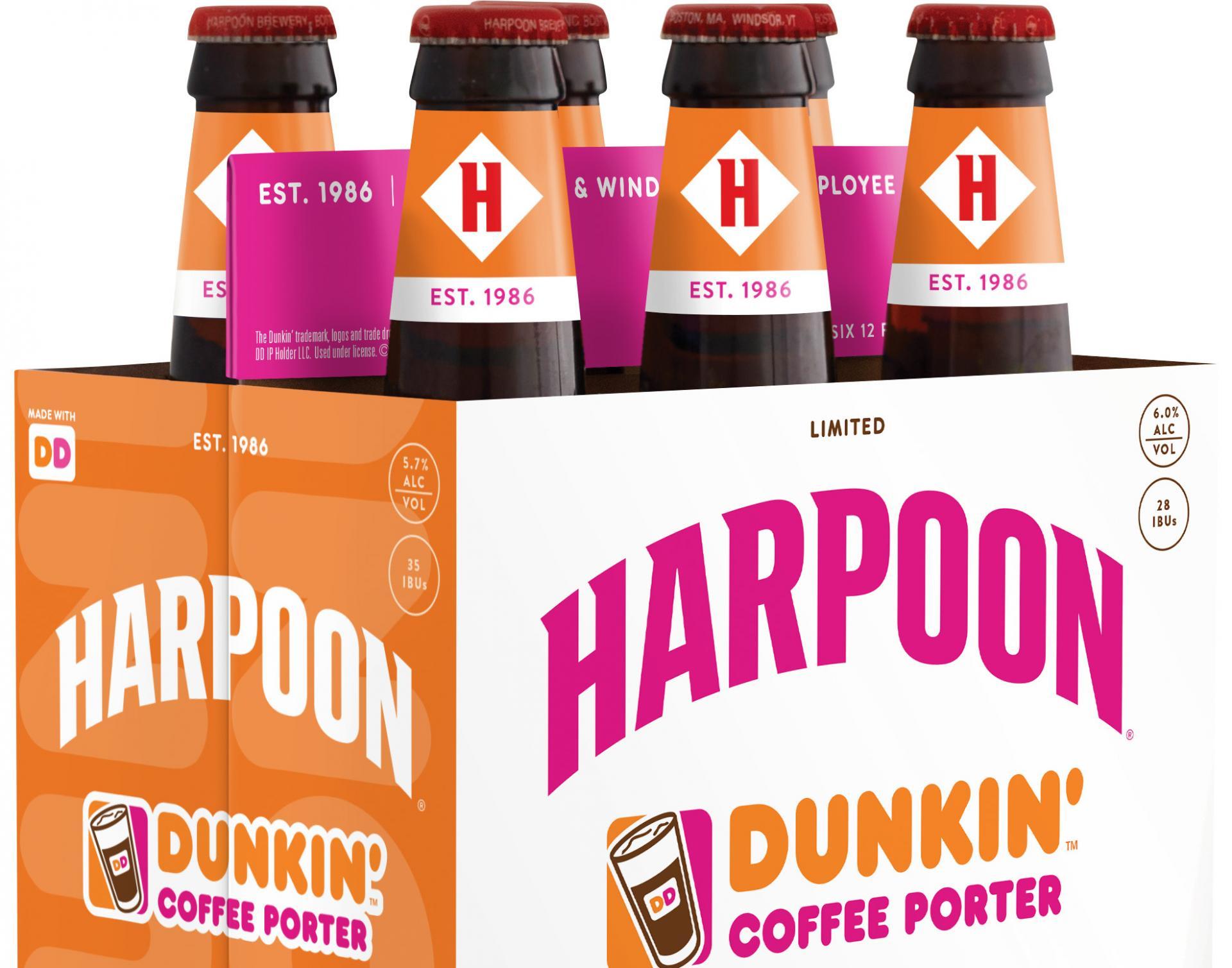 Harpoon Dunkin Coffee Beer