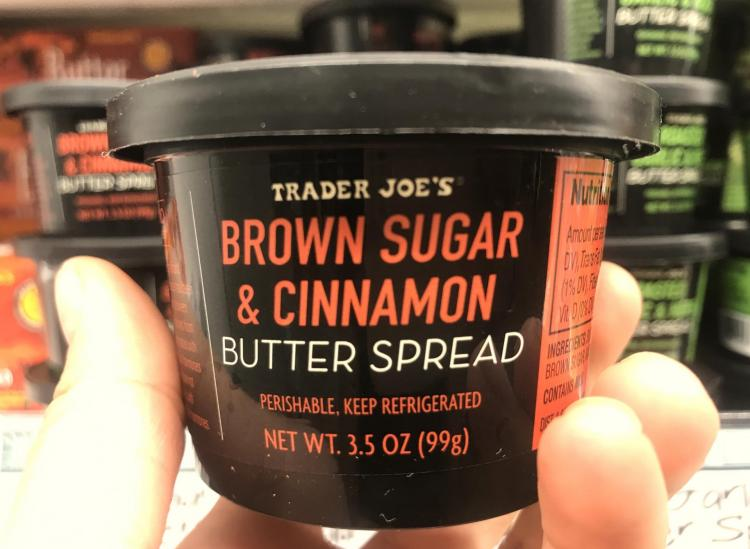 Trader Joes Brown Sugar Cinnamon Butter