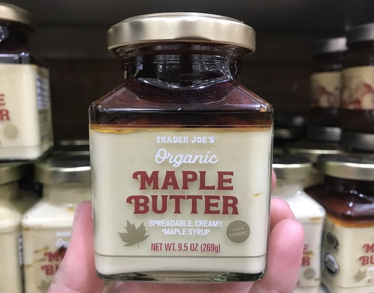 Trader Joes Maple Butter