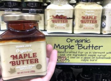 Trader Joe's Has Maple Butter And We're Cryin' Tears Of Joy