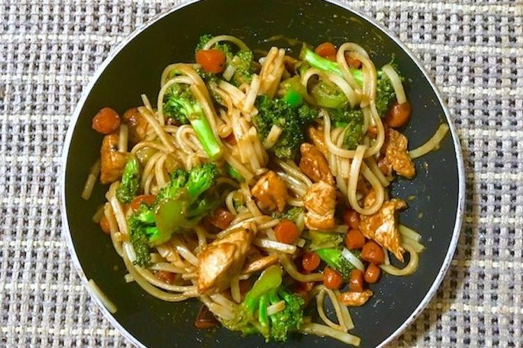 This Chicken and Pad Thai Noodle Stir-Fry Is Your Fave Takeout's Biggest Threat