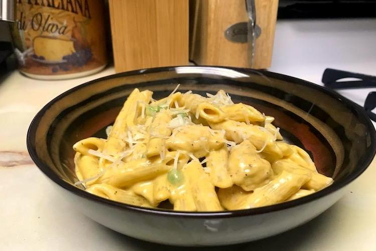 pumpkin alfredo recipe