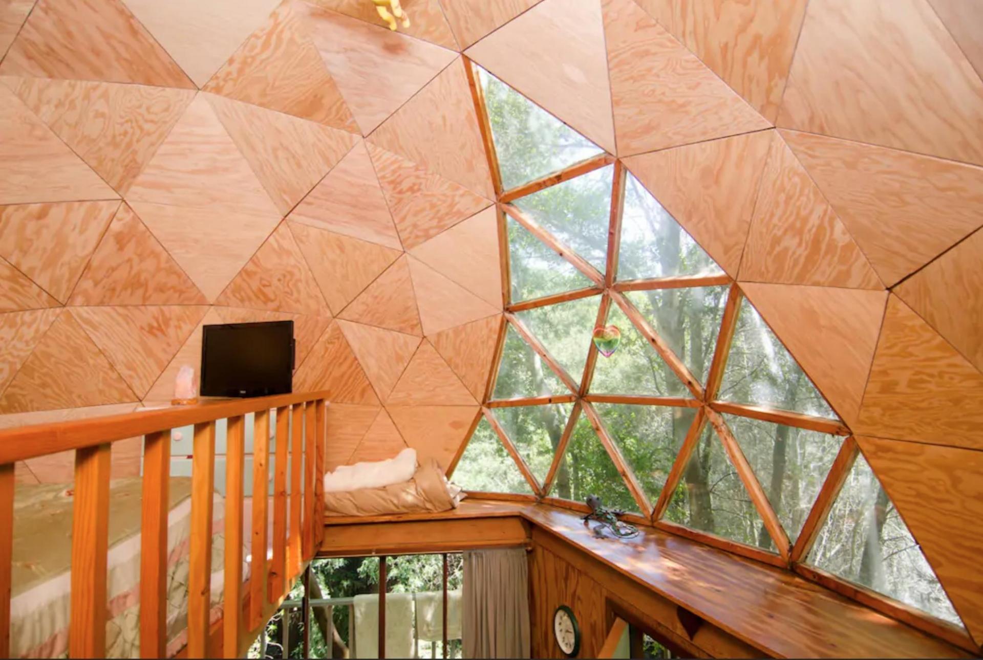 santa cruz dome airbnb