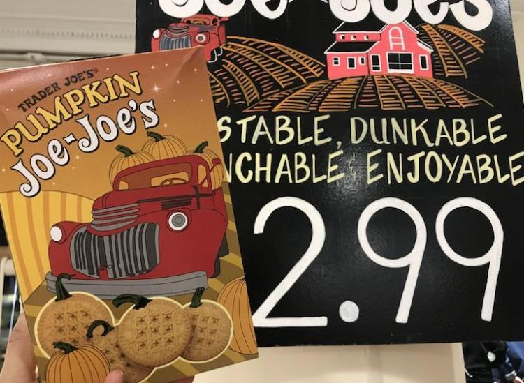 Trader Joes Pumpkin Joe Joe's