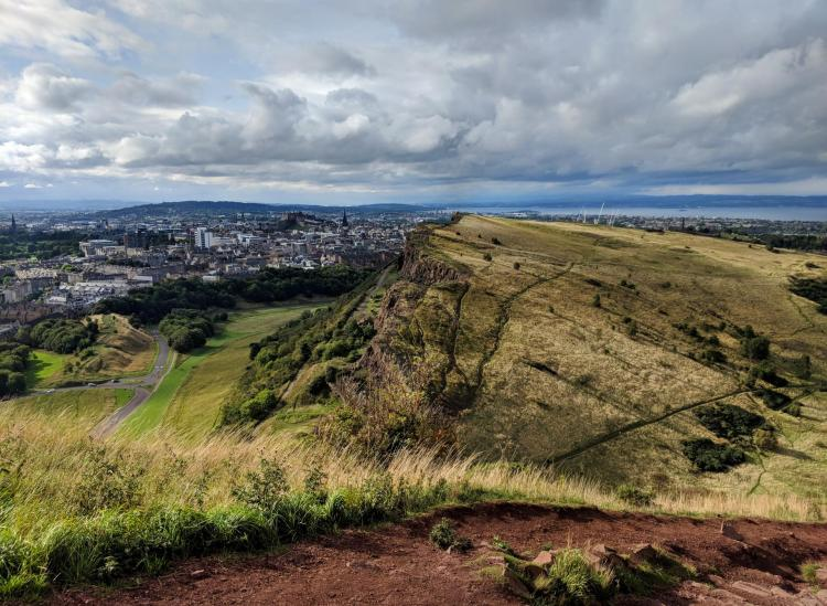 Arthur's Seat Is A Stunning Hike Straight Out Of Edinburgh's City Center