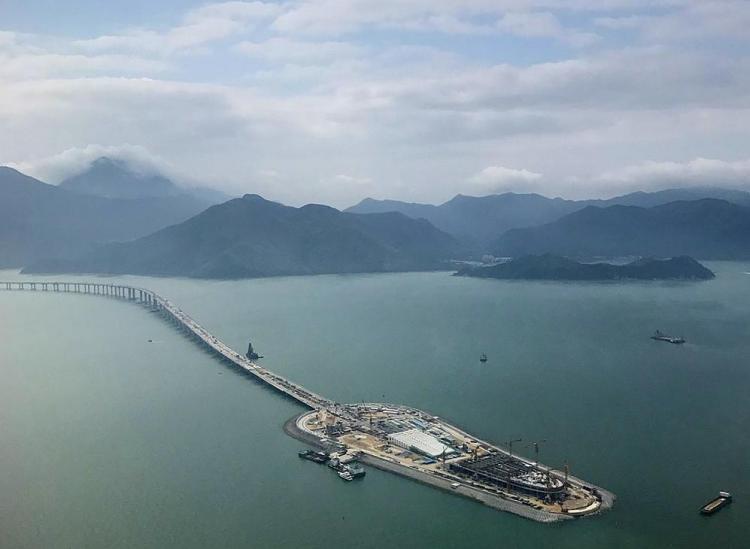 The World's Longest Sea-Crossing Bridge Just Opened Between Hong Kong And China