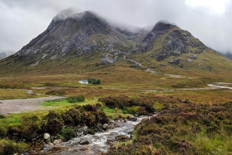 hiking the scottish highlands