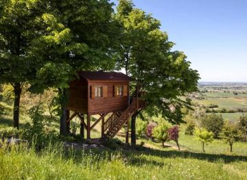 This Adorable Treehouse Airbnb Looks Out Onto The Sweeping Italian Countryside