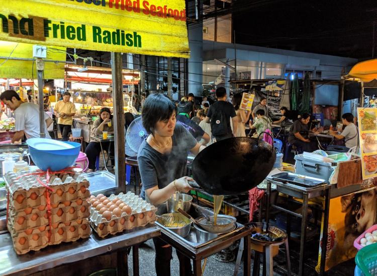 thailand night markets