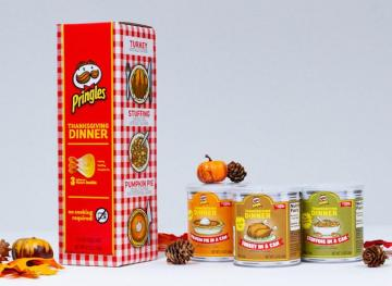 Thanksgiving Pringles Are Back In Sweet And Savory Flavors For A Limited Time