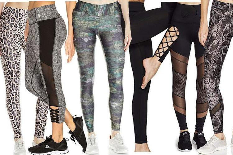 8 Pairs Of Leggings That Are Perfect For The Fitness Fashionista