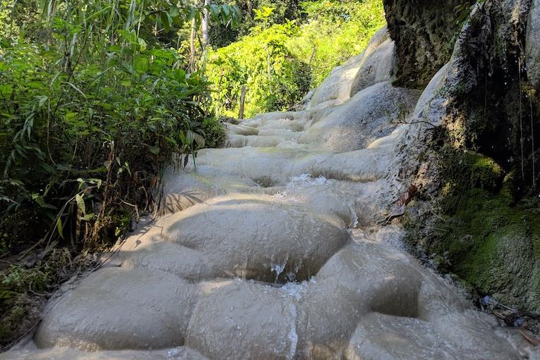 thailand sticky waterfalls