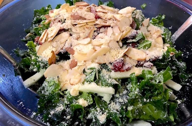 winter kale salad recipe