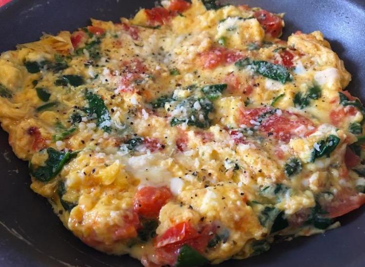 italian egg scramble