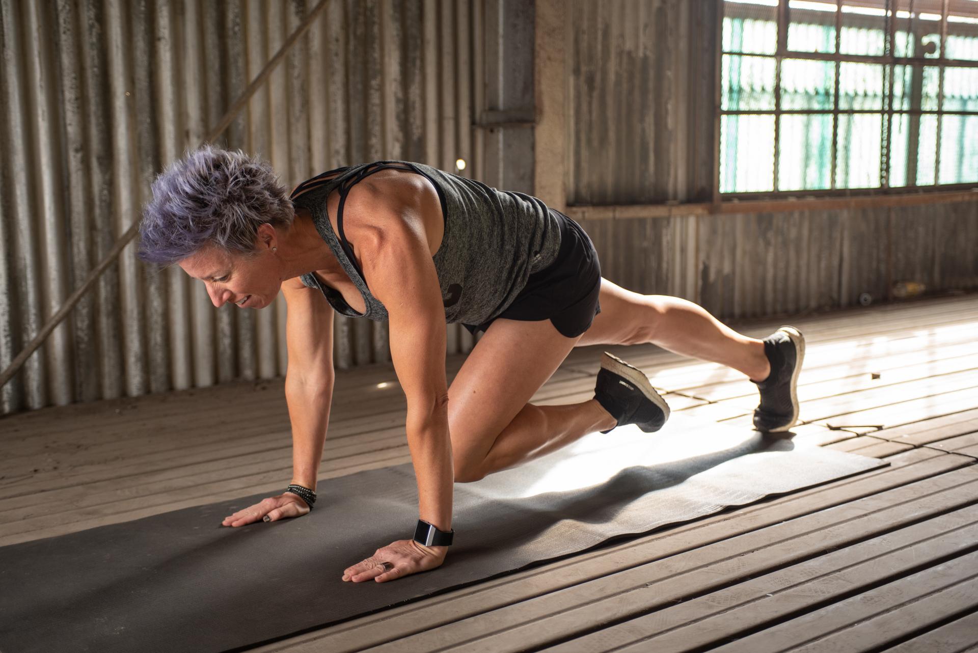 winter bodyweight workout