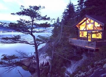 Stay In This Cozy Cabin On A Private Island In British Columbia For $74 A Night