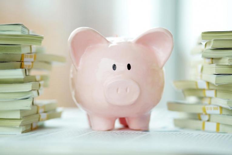 build credit save money