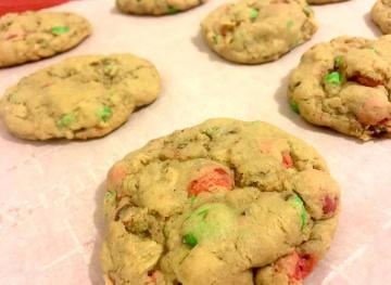 Holiday Monster Cookies Are The Sweet Mash-Up You Need This Christmas