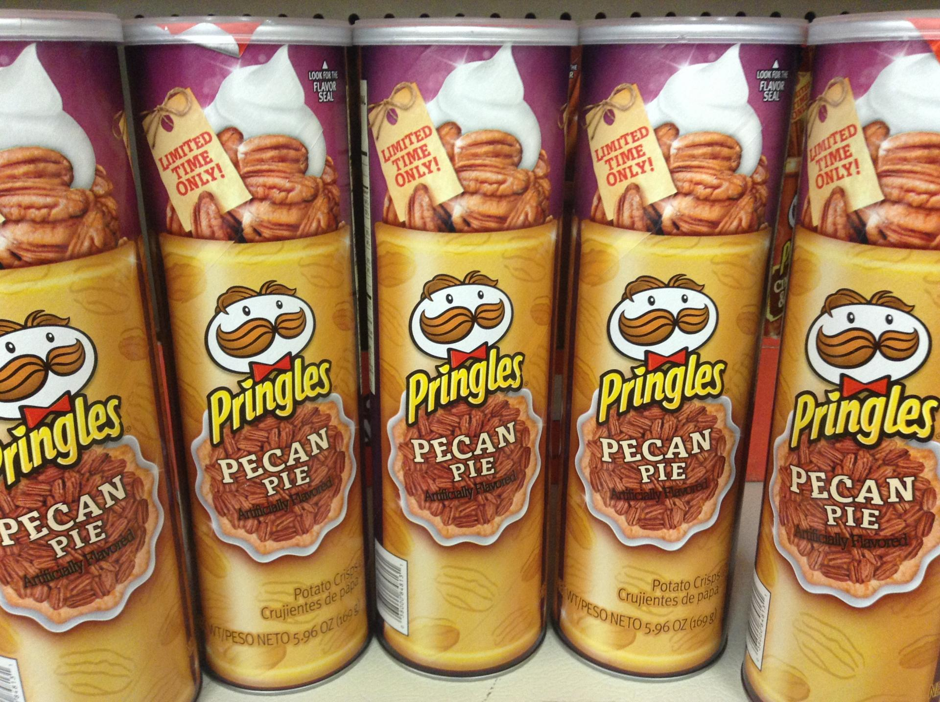 weirdest Pringles flavors