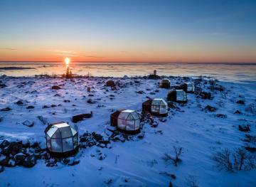 This Glass Igloo Overlooking The Baltic Sea Is The Ultimate Valentine's Day Getaway