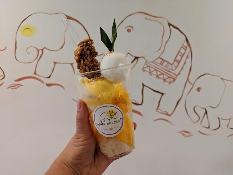mango sticky rice ice cream