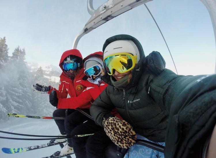 first time ski trip