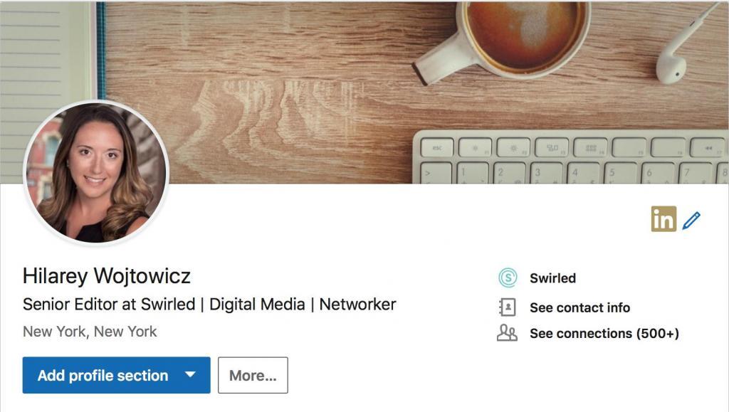 hilarey wojtowicz linkedin headline profile