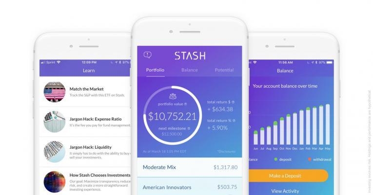 stash investing app portfolio