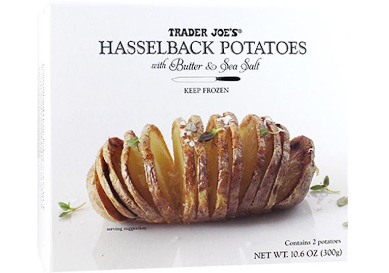 trader joes hasselback potatoes
