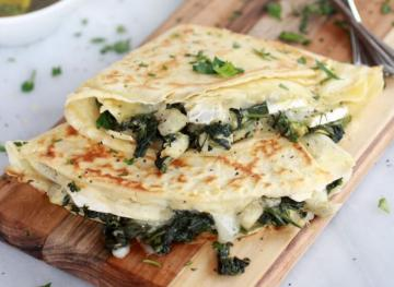 5 Savory Crêpe Recipes For The Best Brunch Ever