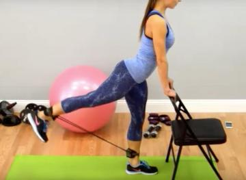How To Get A Killer Lower Body Workout With Resistance Bands
