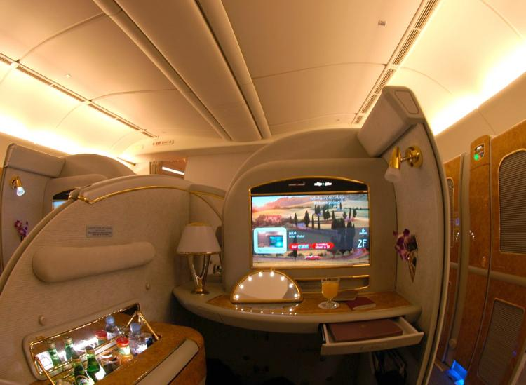 These 6 Airlines Have The Fanciest First Class Amenities