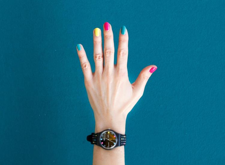 nail polish removing trick