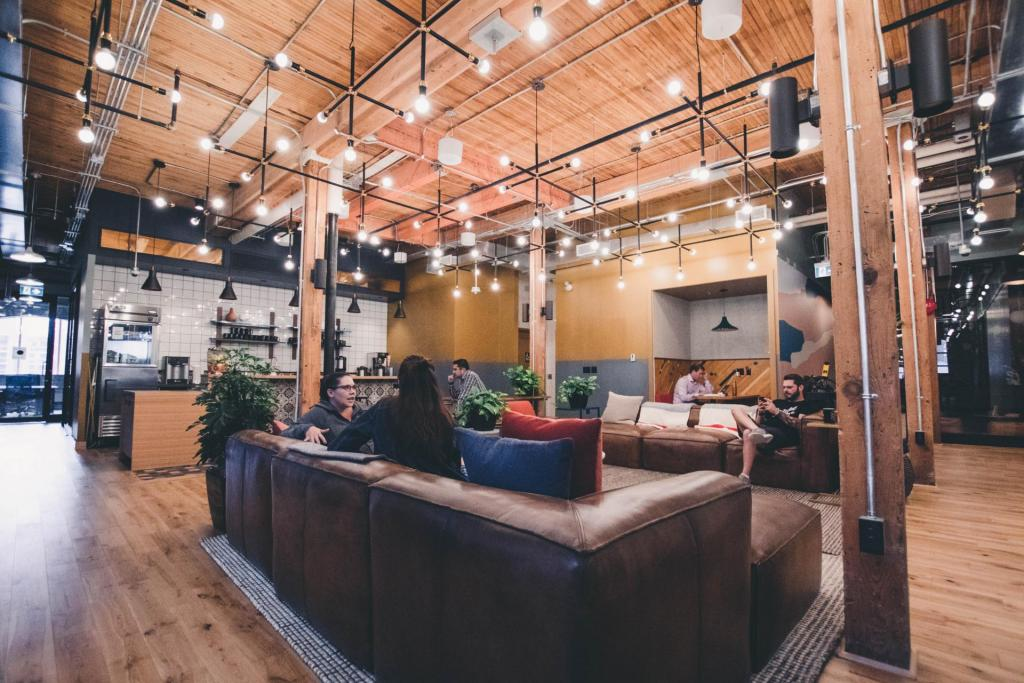 coworking space lounge