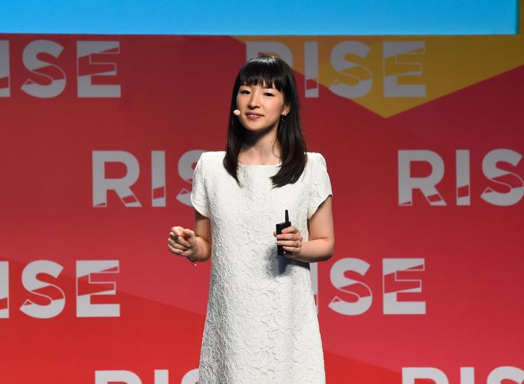 marie kondo success advice