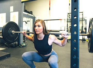 are you squatting right?